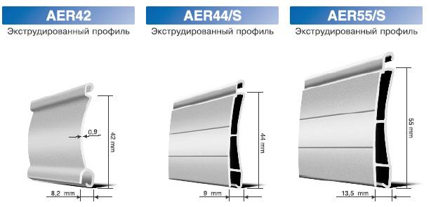 рольставни aer 44 s rhe 45