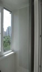 Балкон перед установкой шкафа