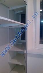 Мебель на балкон. Шкаф на балкон дом серии П-44