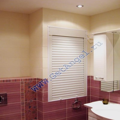Сантехнические рольставни в туалет и в ванную в Москве по